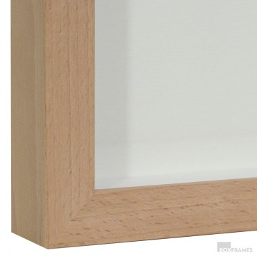 25mm Beech Photo Box Frame