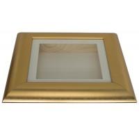 37mm Swept Gold Shadow Box Frame