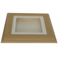 37mm Swept Natural Shadow Box Frame
