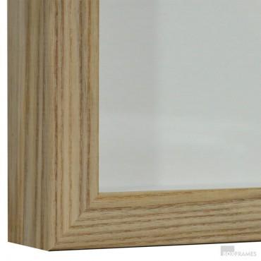 25mm Ash Photo Box Frame