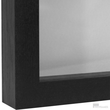 29mm Black Photo Box Frame