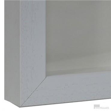 29mm White Photo Box Frame