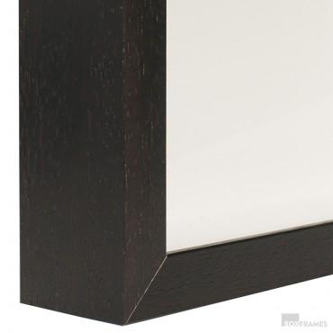 40mm Brown Photo Box Frame