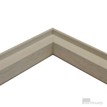 White 30mm Tile Frame