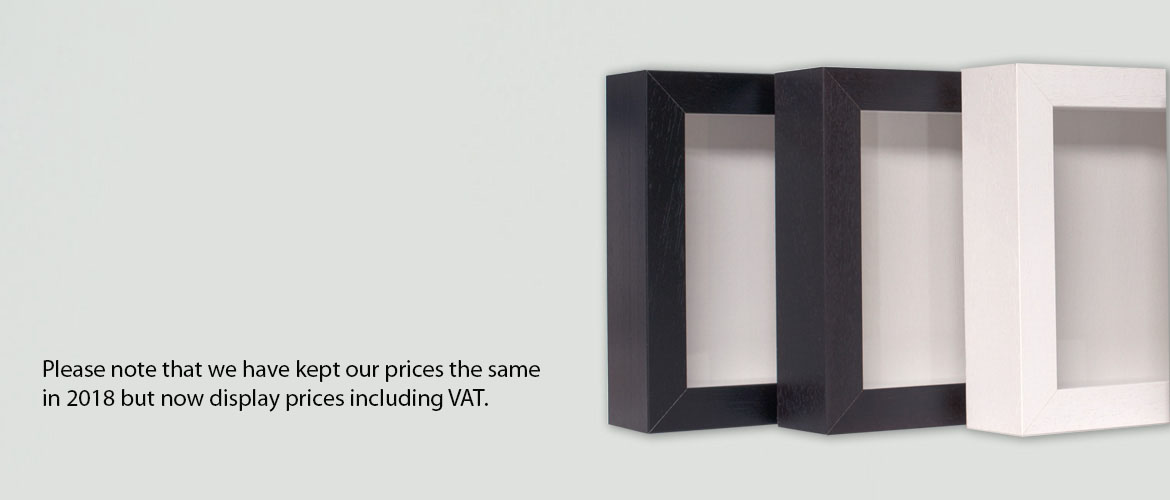 Box Frames - Direct from the manufacturer